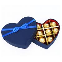 Quality Luxury Fancy Heart Shaped Packing Chocolate Gift Box Custom Paper Packaging Box/Food/Cake/Pizza/Chocolate Boxes for sale