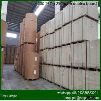 Quality Grade AA Duplex Board With White Back for sale