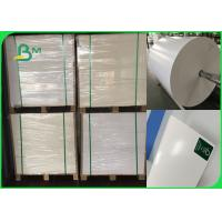Quality Width 708mm 300gsm + 15g PE CIS Ivory Board Poly Coated Paper For Lunch Box for sale
