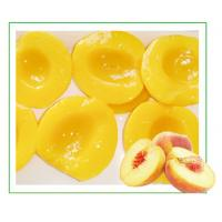 Quality Peach Jelly Organic Canned Fruit , No Added Sugar Tinned Fruit For Babies for sale