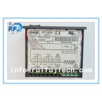 Quality Black Dixell Thermostatic Controller , Digital Temperature Controller Dual output thermostat XT120C for sale