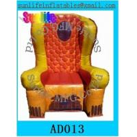 Quality inflatable 0.6mm pvc tarpaulin chair for event for sale