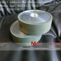 Quality 1A1 flat shape resin CBN grinding wheel for HSS Mary@moresuperhard.com for sale