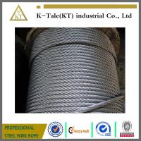 China 8x19s+iwr Elevator Steel Wire Rope Steel Cable 8x19s+iwr on sale