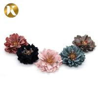 Quality Decoration Handmade Shoe Lace Flowers Europe And America Style for sale