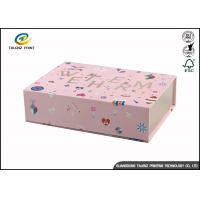 Quality Newly Design Folding Gift Boxes Charming Black Printing Easy Disassembled for sale