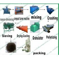 Quality organic fertilizer manufacturing plant/organic manure fertilizer equipment/organic fertilizer manufacturing process for sale