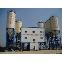 Quality ISO9001 certified stationary HZS120-1Q2000 ready-mixed concrete plant for high speed railway construction for sale
