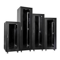 Buy 45U Smart Network Server Cabinet Passive Ventilation Server Enclosure With Doors at wholesale prices