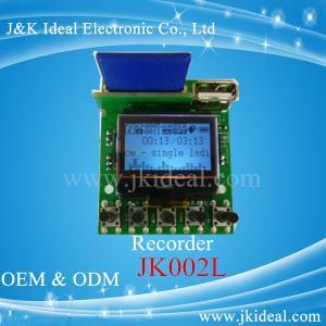 China JK002L LCD usb sd fm wma wav mp3 aux recorder mp3 player module on sale