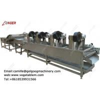Factory direct price fruit and vegetable washer and dryer line for sale