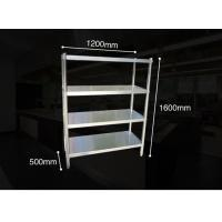 Quality Anti - Rust Steel Storage Shelves , Kitchen Ladder Type Warehouse Storage Rack With Adjustable Legs for sale