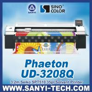 China Digital Printing Machine with Seiko SPT 510-35PL Head, Phaeton UD-3208Q on sale