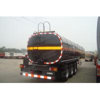 CIMC trailer fuel tank semi trailers in good quality with air suspension
