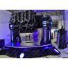 Buy cheap Dynamic Platform 9D VR Simulator Pendulum Electric Cinema With Three Seats from wholesalers