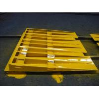 Quality Portable Steel Shipping Container Loading Ramp For Low Level Loading 20ft 40ft for sale