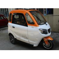 Quality 3 Seat Adult 1500W Enclosed Electric Tricycle for sale