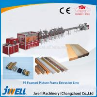 Quality Jwell PS foamed picture frame extrusion line for sale