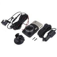 Quality Universal 4inch 1080P Rearview Mirror Car DVR with Dual Recording Cameras for sale