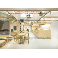 China Cake Store Daily necessities Shop Interior design wood display furniture Cash counters on sale