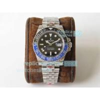 Quality GM Factory Swiss ETA2836 Rolex GMT-Master II Batman Rolex Replica Watch for sale