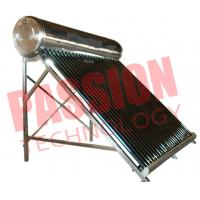 Quality 200L Economical Vacuum Tube Solar Water Heater System Compact Structure for sale