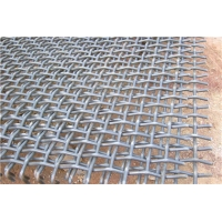 Quality Galvanized Filter 0.3mm Crimped Woven Wire Mesh for sale