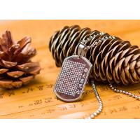 Quality Stainless Steel Vintage Buddhist Religious Jewelry Pendant Necklace Fashion Style for sale