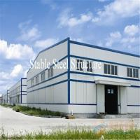 Quality Large Span Pre-Engineered Steel Structure Warehouse with Modern Design for sale