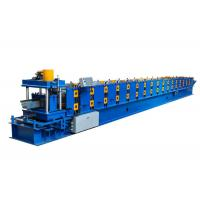 Quality Power 5.5 KW Seamless Aluminium Gutter Machines Dimension 7500*1700*1600 MM for sale