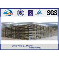 Quality Streetcar Grooved Steel Rail Track 59R2 And 60R2 Tram Rail for sale