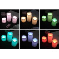 Quality flameless remote control led light candle for sale