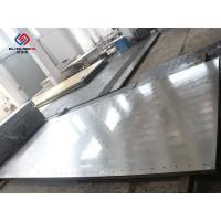 Quality Thermic Oil Heated Hot Press Plates / Stainless Steel Heat Press Machine Parts for sale