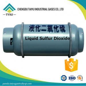 Quality Liquid Sulfur Dioxide SO2 Purity_Sulfur Dioxide SO2 /c-1_SO2 Sulfur Dioxide for sale