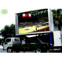 Buy cheap outdoor p5  full color LED advertising screen Truck, Mobile LED Sign Truck, LED video Truck from Wholesalers