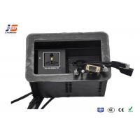 Quality AC Power Conference Table Connection Box , 1.7M Desk Cable Outlet for sale