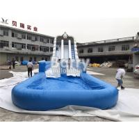 Buy cheap Custom Size Large Outdoor Commercial Inflatable Giant Water Slide For Event from wholesalers