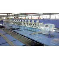 Quality Multi Head Embroidery Machine , Industrial Embroidery Sewing Machine With USB Port for sale