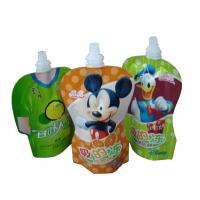 Quality PET / PA / PE Stand UP Pouch / spout pouch self stand up for jelly packaging with high puncture resistance for sale