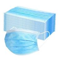 Quality Ultrasonic Welding 3 Ply Face Mask , High Filtration Efficiency Earloop Face Mask for sale