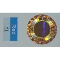 Quality Full Color Holographic Food Label Stickers Laser Die Cut Tag ISO27000 Certification for sale
