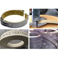 Buy Flexible Brake Band Lining Woven Roll Lining With Brass Wire Reinforced at wholesale prices