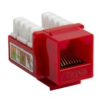 Quality 90 Degree Toolless Type Unshielded RJ45 Cat6 Keystone Jack for sale
