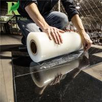 Quality 0.03-0.2mm Clear Transparent Anti-scratch Marble Protective Film for sale