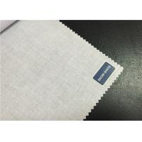 Quality Bleached T / C Poplin Cloth Cotton Polyester Blend Fabric For Garment Textile for sale