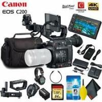 China Cheap Canon EOS C200 EF Cinema Camera & 24-105mm Lens With BP-A60 Battery STARTER KIT on sale