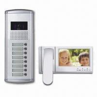 Quality Video Door Phone with Night Vision CCD Camera, Outdoor Unit Expander and 400mA Working Current for sale