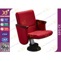 China Single Leg Retractable Auditorium Seating With Heating Air Conditioner Air Outlet Under on sale