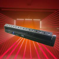 Quality American Dj Disco Lights 8 Eyes 500mW Red LED Laser Beam Bar Light for sale for sale
