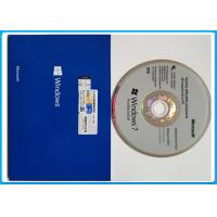 Quality Software windows 7 professional retail 32 bit x 64 bit English French Italian original OEM Key for sale